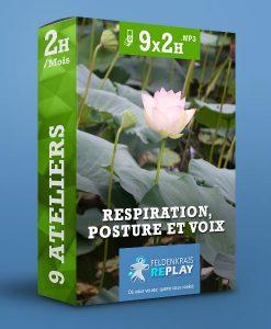 9 ateliers de Feldenkrais sur le thème « Respiration, Posture et Voix »
