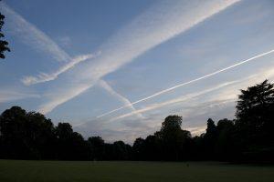 traces sur le ciel