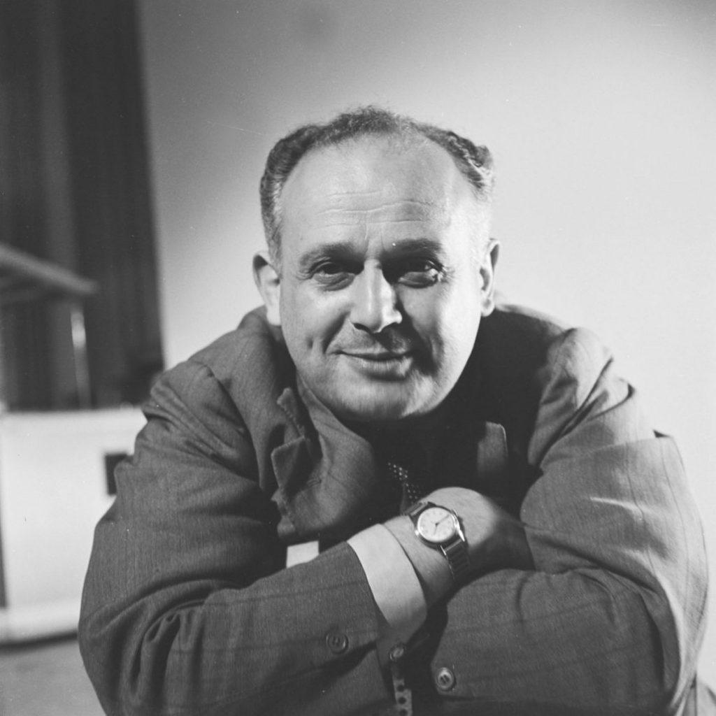 Portrait de Moshé Feldenkrais