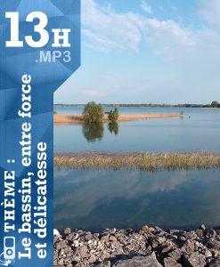 Image de lac - atelier Feldenkrais sur le bassin